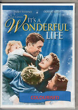 IT'S A WONDERFUL LIFE (COLOURISED) JAMES STEWART & DONNA REED ALL REGION DVD