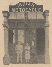 Y5926 INDIAN Motorcycle - Pubblicità d'epoca - 1929 Old advertising