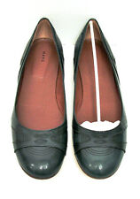 MARC JACOBS Kid Mistral TEAL Leather Ballet Flats Shoes Sz 10 M W/Box $335