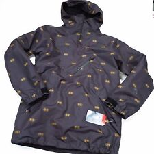 $170 North Face Men's Dubs Jacket Medium TNF Black Double Vision Print NEW