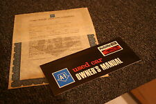 NOS 1970 Mustang,Torino,Truck Autolite USED CAR warranty manual & contract A-1