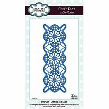 SUE WILSON STRIPLET COLLECTION LATTICE AND LACE DIE FROM CREATIVE EXPRESSIONS