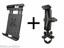 RAM Motorcycle Handlebar Mount for Samsung Galaxy Tab S2 8.0, use w/Otterbox