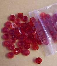 Lego 100 x 1er flach rund Rundplatte 1 x 1 rot red Stein Einser Kleinteile Neu