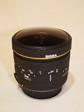 Sigma 8mm f/4 EX Circular Fisheye AF Lens for Canon EOS DSLR-FREE SHIPPING