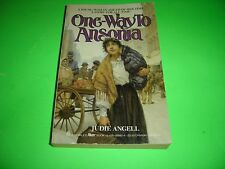 One Way To Ansonia By Judie Angell 1986 Paperback
