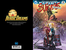Suicide Squad #1 Jay Anacleto Limited Variant Heroic Dreams Exclusive