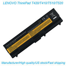 Laptop Battery for Lenovo ThinkPad T510i L410 L520 SL410 SL510 42T4791 57Y4186