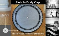 Pinhole body cap for Olympus PEN F FT FV camera body half frame