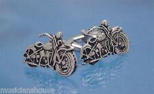 MOTORBIKE MOTORCYCLE HOG HARLEY DAVIDSON CUFFLINKS BIKER GIFT PRESENT Club Rider