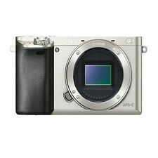 Sony ILCE-6000 Alpha a6000 Camera - Silver (Body Only)
