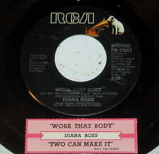 Diana Ross 45 Work That Body / Two Can Make It
