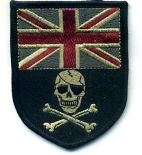 UK Flag Calico Jack Jolly Roger Camp Bastion Helmand Afghanistan burdock PATCH