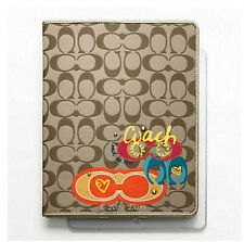NWT! COACH 62915 DAISY POP C APPLIQUE IPAD CASE - RETAILS @ $128.00