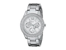 Fossil ES3588 BRAND NEW Women's Stella SS Glitz Analog Dial Quartz Dress Watch