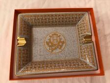 NEW NIB Authentic Hermes Mosaique au 24 Jewelry Ashtray Change tray Gold Silver