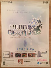 Final Fantasy Echoes of Time RARE Wii NDS 51.5 cm x 73 Japanese Promo Poster #3