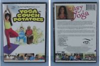 * Easy Yoga for Couch Potatoes DVD Part of the 'Ask Yogi Marion' Series NEW *