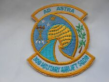 USAF  RAF cloth squadron patch  AD ASTRA  308 MILITARY AIRLIFT SQDN