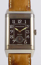 JAEGER LeCOULTRE REVERSO 18ct WEIßGOLD GRAND TAILLE HERRENUHR - Ref. 275.3.62