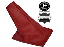 DARK RED LEATHER MANUAL GEAR STICK GAITER FITS TOYOTA CELICA ST20 AT20 94-99