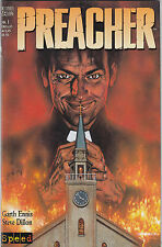 Preacher (tedesco) # 1 Variant-GARTH ENNIS/STEVE DILLON-Speed-Top