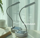 Solar & USB Power 4LED Desk Light Flexible Desktop Reading Protect Eyes D078