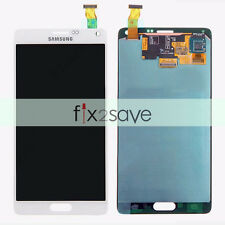US White Samsung Galaxy Note 4 N910V LCD Display Touch Screen Digitizer Assembly