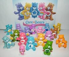 Care Bear Deluxe Figure Toy Set of 17 Different Care Bears -Wonderheart Bear Etc