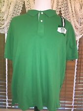 Mens NWT PALMEIRAS L/XL Green Soccer Polo Shirt MSRP $139.99