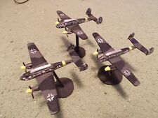 Flames of War 15mm, 1/144 Scale painted German BF-110 Aircraft (3)
