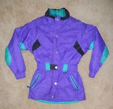 REI ELEMENTS Purple Warm Winter SKI JACKET Snowboard Coat Size Women's 12 Cute!