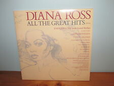 DIANA ROSS 'ALL THE GREAT HITS'  Featuring ENDLESS LOVE Lionel Richie VINYL LP