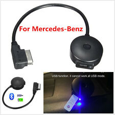 For Mercedes-Benz Car Bluetooth MMI Music Adapter AUX Cable Interface USB MP3