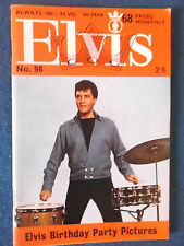 Elvis Presley Elvis Monthly Magazine 9th Year Issue 98 March1968.Birth of Lisa