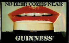 GUINNESS NO BEER Vintage Metal Pub Sign | 3D Embossed Steel | Home Bar | Irish