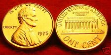 OR/GOLD  PL  MONNAIE AMERICA   USA    1975  LINCOLN  GOLD/OR   PL
