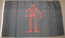 3X5 EDWARD LOW PIRATE FLAG ED LOWE SKULL NEW F506