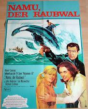 Robert Lansing NAMU DER RAUBWAL original Kino Plakat A1