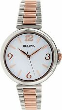 Bulova Women's Classic 98L195 Silver Stainless-Steel Quartz Watch