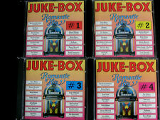 JUKE BOX- 4CD- Romantic Juke-Box - Love songs- Romantic Hits