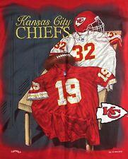 True Vintage 1994 Kansas City Chiefs NFL Football Locker Room Nutmeg T-Shirt L