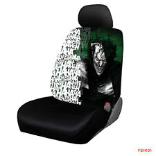 New Suicide Squad Joker laughs Car Truck Front Seat Cover by Plasticolor