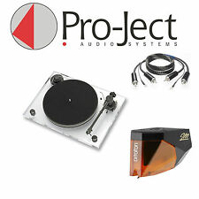 Pro-Ject Xperience Basic + tocadiscos incl. ortofon 2m bronce + RCA-cc! nuevo!