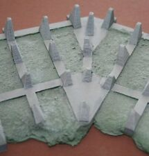 MGM 70-16 1/72 Resin WWII German Dragon Teeth Line Type 1938 Cranked - Set II