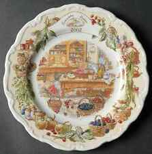 Royal Doulton BRAMBLY HEDGE 2002 Collector Plate 2481125