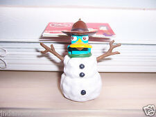 Disney's Phineas & Ferb PERRY The PLATYPUS Christmas Holiday Ornament Snowman