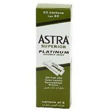 Astra Superior Platinum Double Edge Razor Shaving Blades 10000 pcs FAST Shipping