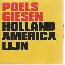 CD album  POELS GIESEN - HOLLAND AMERICA LIJN - HOLLAND POP amerika line