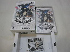 Used PSP Black Rock Shooter The Game WRS Charm Box. Japanese Version. Airmail.
